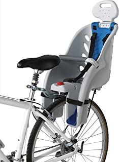 Schwinn Deluxe Bicycle Mounted Child Carrier/Bike Seat For Children, Toddlers, and Kids