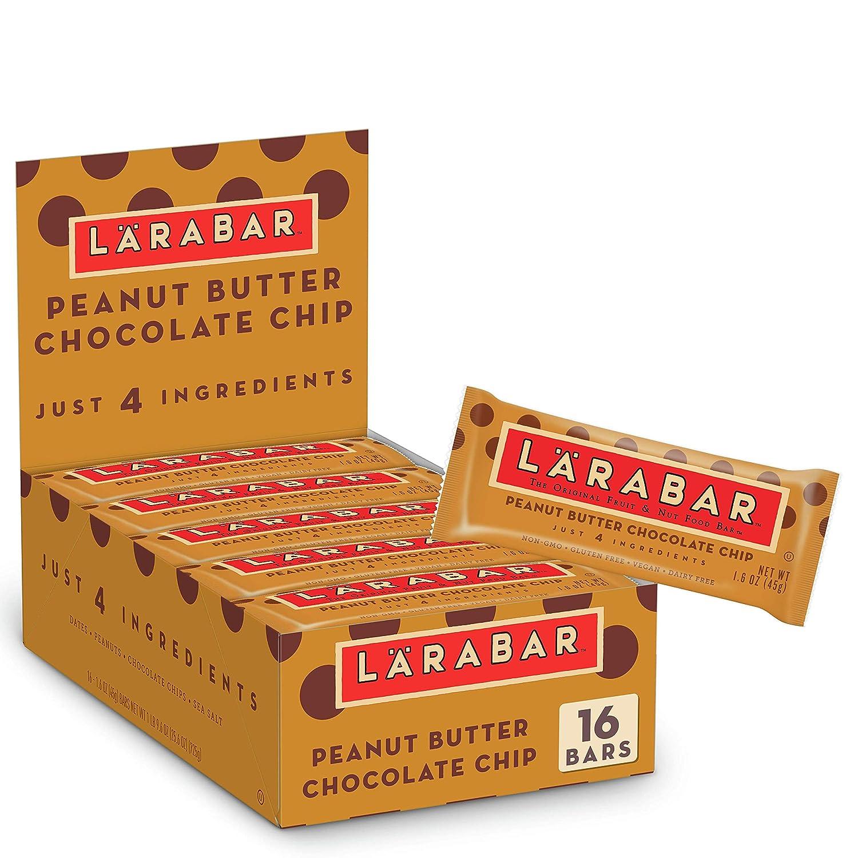 Larabar Peanut Butter Chocolate Chip Vegan Fruit Free Challenge Free shipping the lowest price Gluten