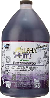 Groomers Edge Alpha White Shampoo, 1 Gallon