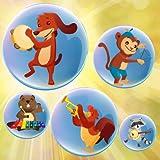 Musik Blasen für Kinder : Musikinstrumente und Klänge ! Lernspiel für Kleinkinder