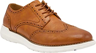 NINE WEST Wingtip Shoes for Men I Lace Up Mens Oxford Shoes I Casual Dress Shoes for Men I Fashion Shoes for Men with Deep Grooves in Outsole That Mimics The Natural Motion of The Foot I Jay