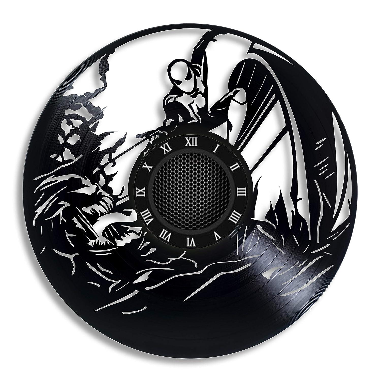 Spider Long Beach Mall vs Venom Handmade Vinyl Record Wall ro Get Ultra-Cheap Deals - Clock unique
