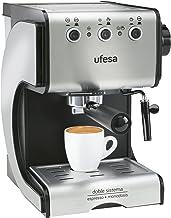 Ufesa Cafetera expreso Duetto Creme CE7141, 500 W, 1 Cups,
