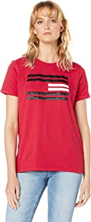 Tommy Hilfiger Women's Flag Logo T-Shirt