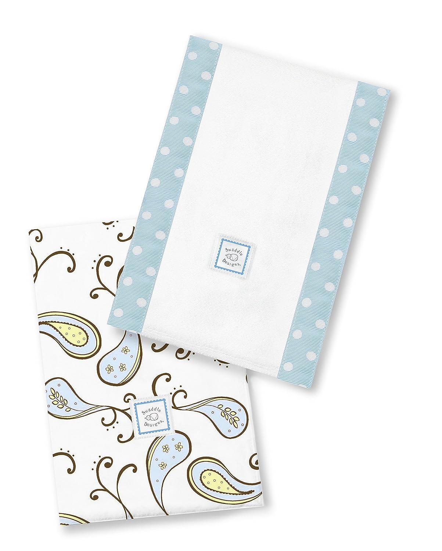 SwaddleDesigns Baby Cheap Burpies Surprise price Set of Cloths Pastel Burp Cotton 2