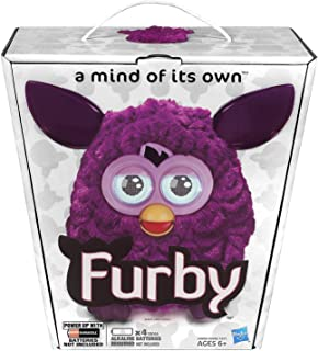 Furby 2012 Plum with AA Batteries