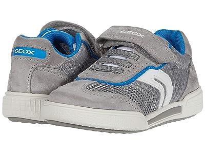 Geox Kids Poseido 3 (Toddler/Little Kid) (Grey/Light Blue) Boy