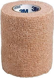 3M Coban Self-Adherent Wrap, Tan, 3