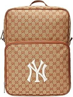 Men's GG Backpack NY Yankees MLB Applique