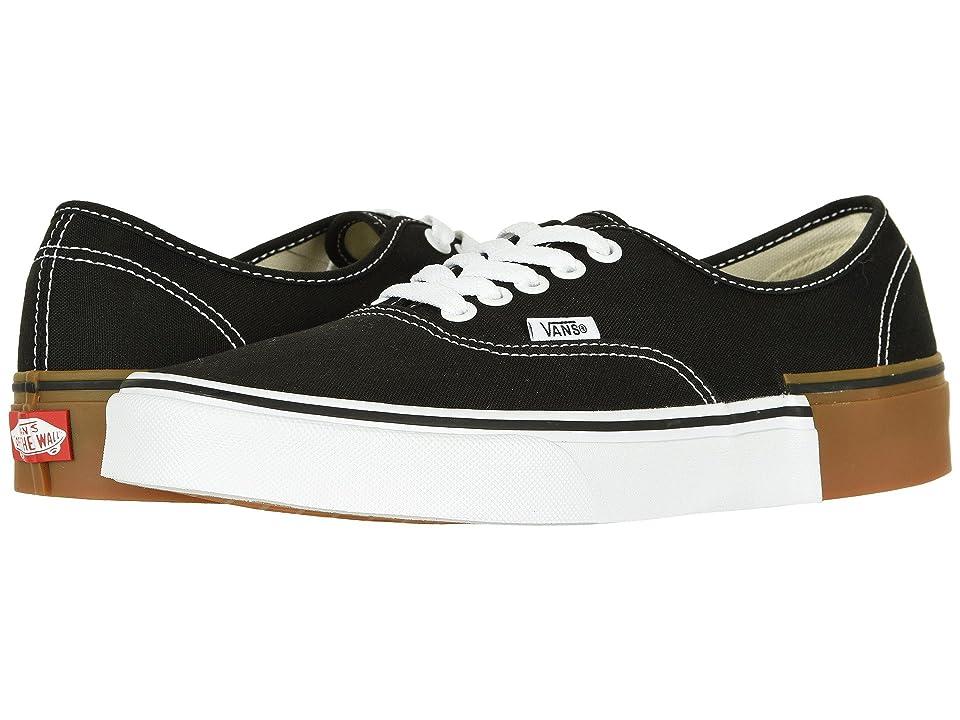 Vans Authentictm ((Gum Block) Black) Skate Shoes