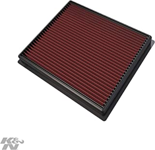 K&N Engine Air Filter: High Performance, Premium, Washable, Replacement Filter: 2014-2019 Toyota Truck and SUV V6/V8 (Tundra, Tacoma, Sequoia), 33-5017