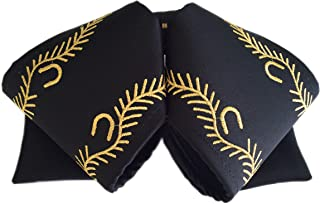 Hello Mariachi, Moño Negro bordado, Mexican Bow, charro, Bow Tie, embroidery
