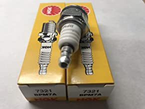 NGK (7321) BPM7A Spark Plugs Individual Boxed - 2 Pack