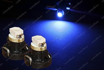 10 St/ück Wei/ß FidgetGear T3 Neo Wedge 2835 LED Armaturenbrett-A//C Klimamontrolle