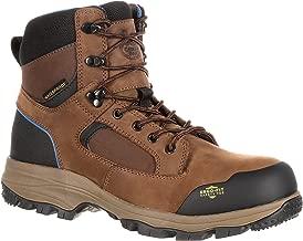 Georgia Boot Men's 6 Inches Blue Collar Waterproof Work Hiker-GB00107