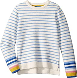 Lake Blue Cream Stripe