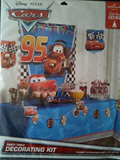 Disney Pixar Cars Party Table Decorating Kit