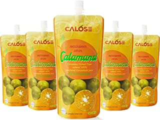 Calamansi Juice Concentrate 100% Pure Fruit Extract Undiluted l Tastes Fresh Good quality! Great for Salad Dressings, Cook...