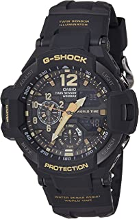 Casio G-Shock Men's Black Dial Resin Band Watch - GA-1100GB-1ADR