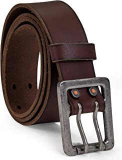 Timberland PRO Men's 42mm Double Prong Leather Belt