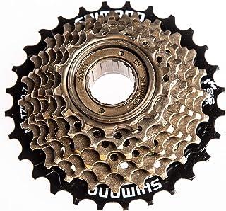 ZUKKA Bike Freewheel 6-Speed MF-TZ30,14-32Teeth /7 -Speed MF-TZ500,14-28Teeth Multiple Freewheel Threaded Hub Type Bike Ac...