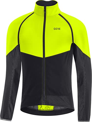 Vestes de Cyclisme Hommes Coupe-Vent Respirant R/éfl/échissant Softshell Coupe-Vent Running Vestes de Cyclisme Manteau en Molleton Thermique Softshell Hauts de V/élo Thermiqu