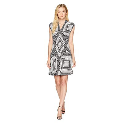 CATHERINE Catherine Malandrino Tinka Dress (Keyboard Geo) Women