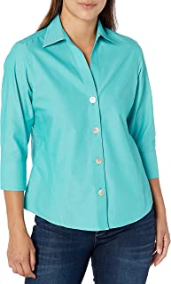 Foxcroft Women's Non-Iron Essential Paityn Shirt Button Down Shirt