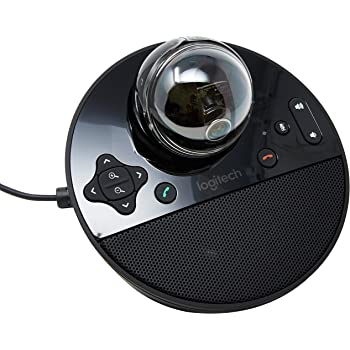 Logitech Conference Cam BCC950 Video Conference Webcam, HD 1080p Camera with Built-In Speakerphone