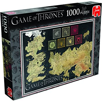 Thrones 1000 Piece Jigsaw Puzzle on OnBuy