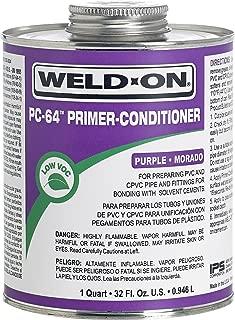Weld On 64 Primer Cleaner Quart Purple