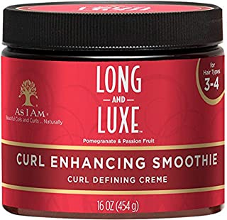 As I AM Long and Luxe Curl Enhancing Smoothie, 16 Ounce