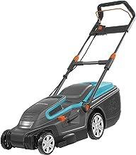 Cortacésped eléctrico PowerMax 1600/37 de GARDENA: segadora hasta 500 m², ancho de corte 37 cm, volumen 45 l, altura de corte 20-60mm, manillar plegable, empuñadura ergonómica (5037-20)
