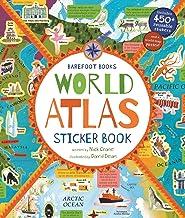 Barefoot Books World Atlas Sticker Book (9781782858300), Multicolor