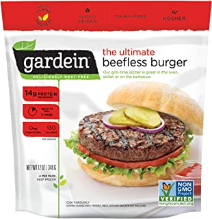 Best gardein meatless burgers Reviews
