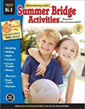 Summer Bridge Activities | Bridging Grades K-1 | Summer Learning Workbook | 160pgs