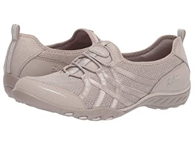 SKECHERS Breathe-Easy Envy Me (Taupe) Women