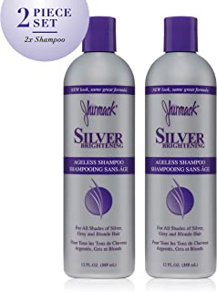 Jhirmack Silver Plus Ageless Shampoo 12 Fl oz (Pack of 2)