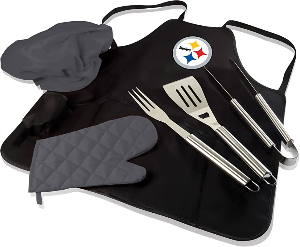 NFL BBQ Apron Tote Pro Pittsburgh Steelers