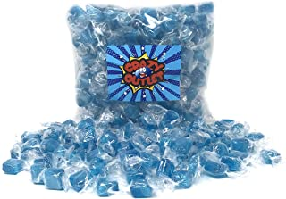 CrazyOutlet Pack - Primrose Ice Blue Mint Cubes Squares Hard Candy, Individually Wrapped Peppermint Candy, 2 lbs - Halloween Candy