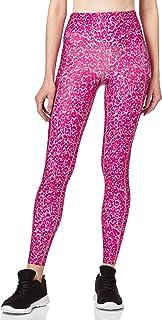 Marque Amazon - AURIQUE Legging de Sport Imprimé Taille Haute Femme