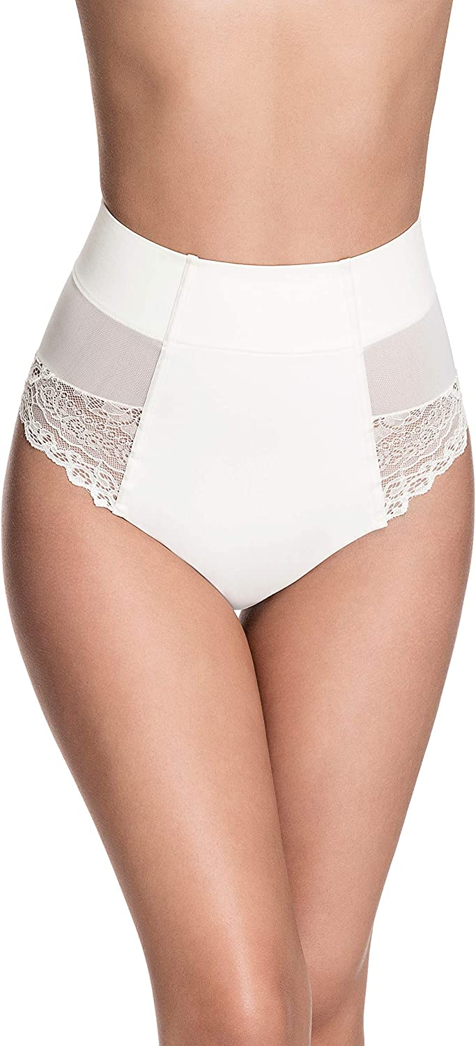 Squeem - Brazilian Flair Women's Complete Free Shipping Slimming Los Angeles Mall Mid Lace Waist Brazil