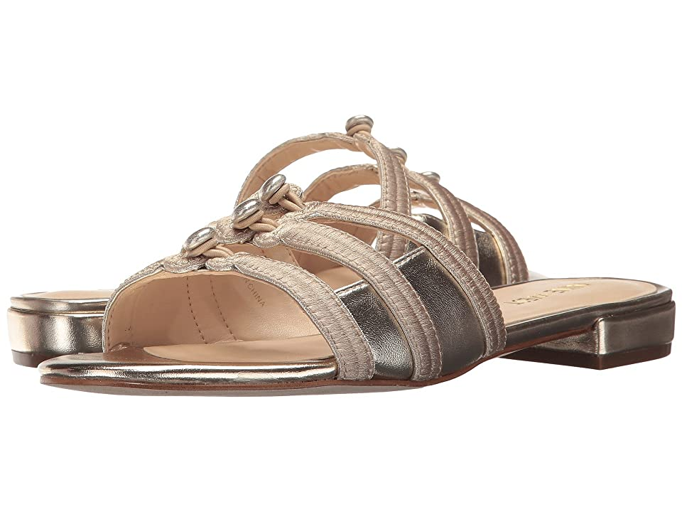 Nine West Irock (Light Gold Synthetic) Women's Sandals