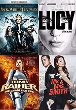 Perfect Assassin Action Sci-Fi 4 Lara Croft Tomb Raider Cradle of Life + Mr. & Mrs. Smith + Snow White & The Huntsman & Lucy Scarlette Johansson Movie Feature