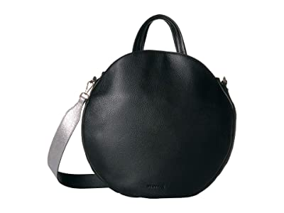 NEUVILLE Pizza Satchel (Black Grain) Handbags