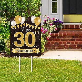 Amazon Com 30th Birthday Yard Sign