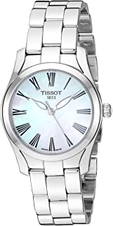 Tissot Analogue Classic Silver Strap Women's Wrist Watches - T112.210.11.113.00, T1122101111300