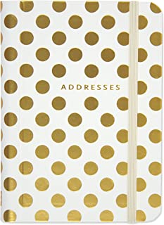 Gold Dots Address Book