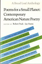 Poems for a Small Planet: Contemporary American Nature Poetry (Bread Loaf Anthology)