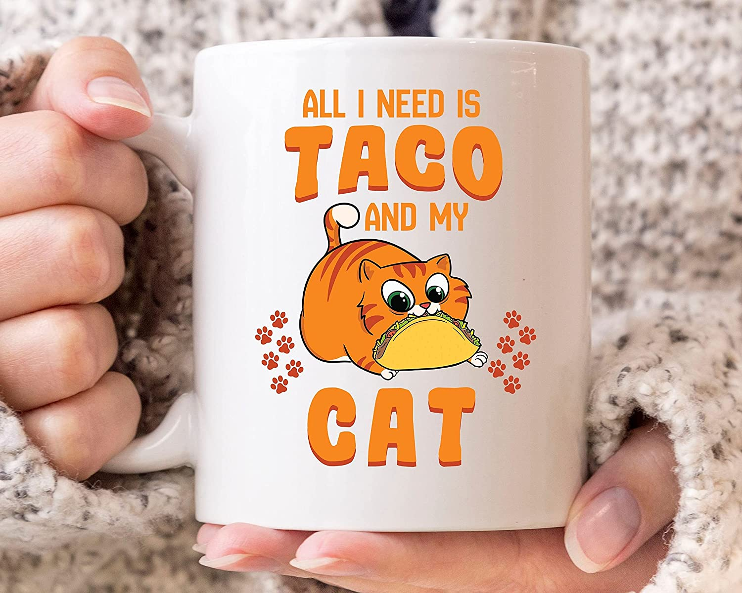 DKISEE All I Need is Taco and Bombing free shipping My De Mug Mayo Cinco Cat Very popular Coff